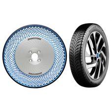 Безвоздушные шины Bridgestone – идеальная концепция для грузового сегмента