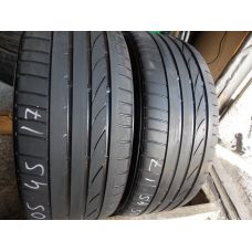 Летние шины бу 205/45 R17 BRIDGESTONE Potenza RE050 run flat