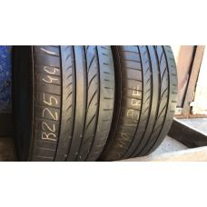 Летние шины бу 225/40 R18 BRIDGESTONE Potenza RE050 A  I run flat