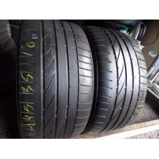 Летние шины бу 245/35 R18 BRIDGESTONE Potenza RE050A run flat