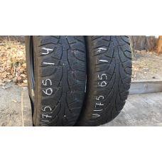 Зимние шины бу 175/65 R14 UNIROYAL MS Plus 77