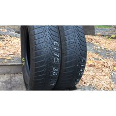 Зимние шины бу 175/80 R14 CONTINENTAL Conti Winter Contact TS 800