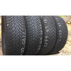 Зимние шины бу 195/65 R15 CONTINENTAL Conti Winter Contact TS 860