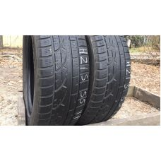 Зимние шины бу 2215/55 R17 HANKOOK Winter I*cept Evo