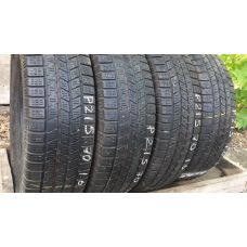 Зимние шины бу 215/70 R16 PIRELLI Scorpion Ice 8 Snow