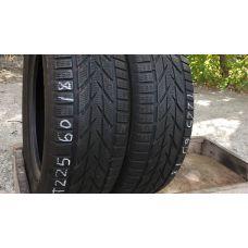 Зимние шины бу 225/60 R18 TOYO Snowprox S953