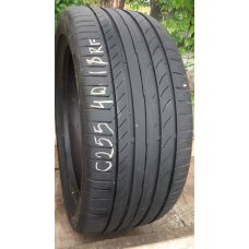 Летние шины бу 255/40 R18 CONTINENTAL Conti Sport Contact 5 SSR run flat