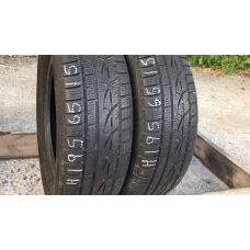 Зимние шины бу 195/65 R15 HANKOOK Winter I*cept Evo
