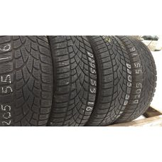Зимние шины бу 205/55 R16 DUNLOP SP Winter Sport 3D