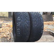Зимние шины бу 215/55 R16 UNIROYAL MS Plus 77