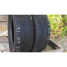 Зимние шины бу 215/60 R16 UNIROYAL MS Plus 66